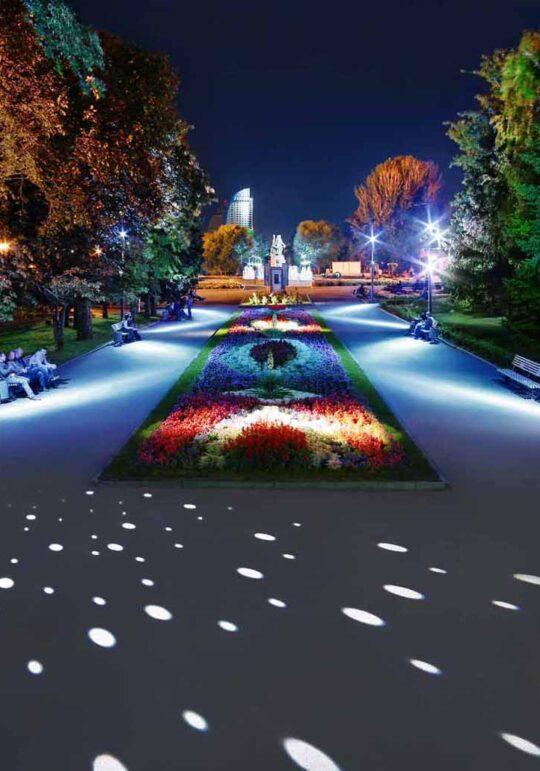 Парково осветление