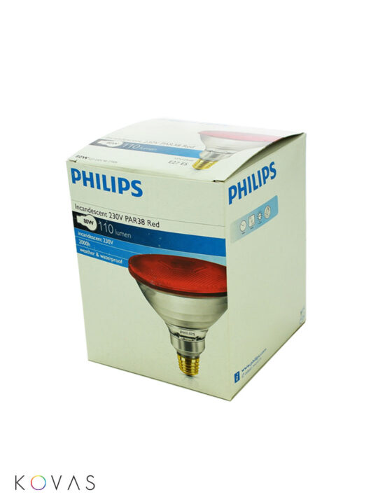 Philips-PAR-38-E27-RED-box