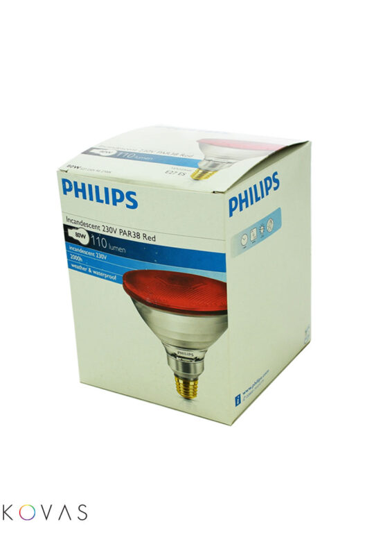 Philips-PAR-38-E27-RED-box