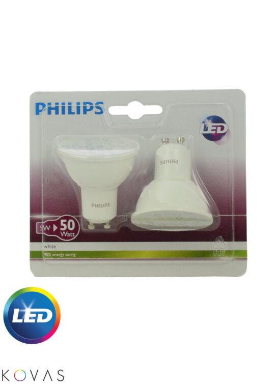 KVS-Philips-Promo-Blister-2x5-50W-GU10