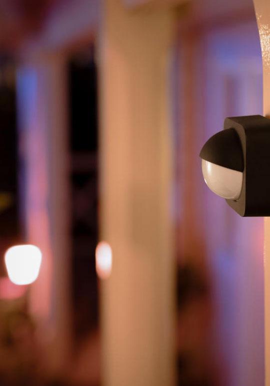 Осветление с датчик за движение